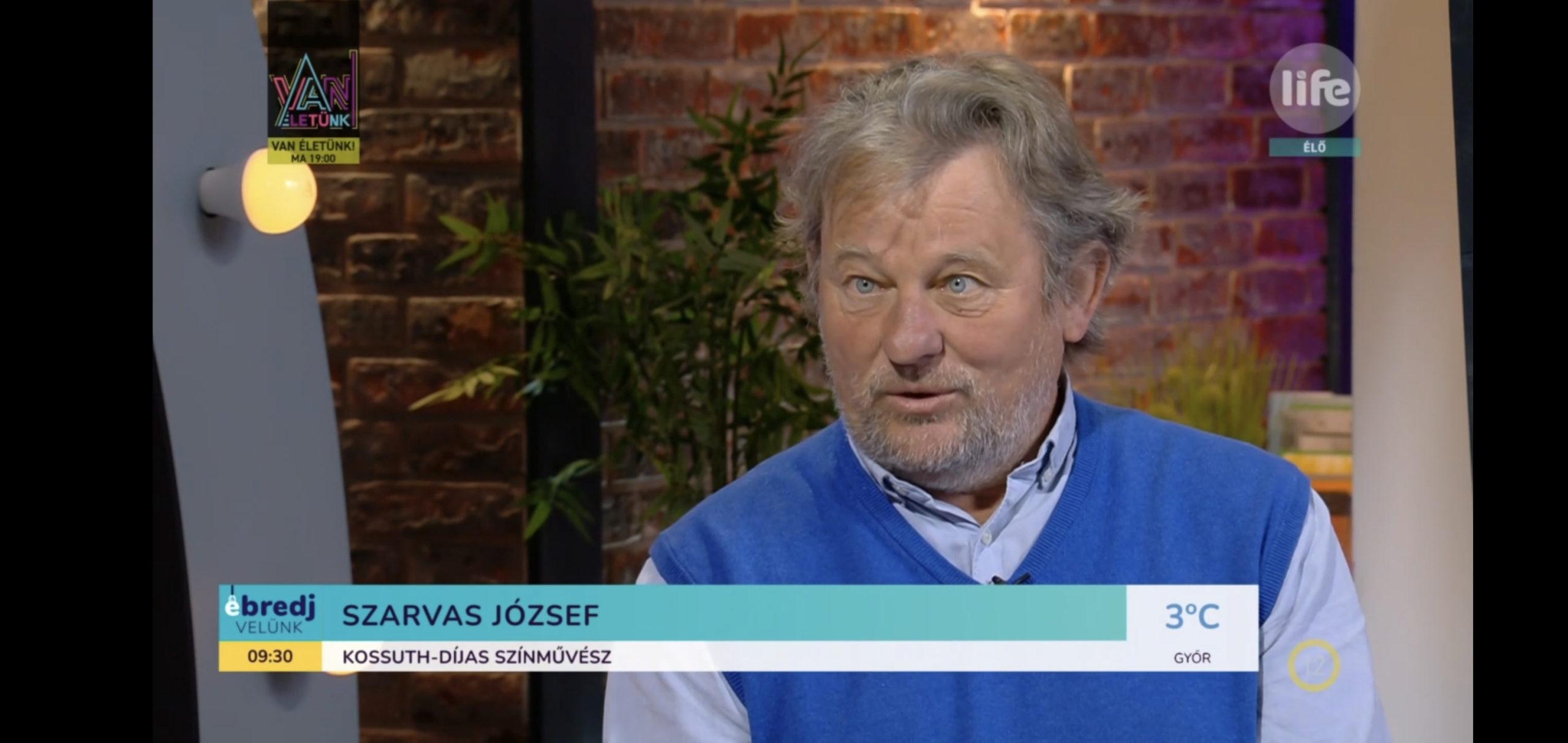 Szarvas József Kossuth-díjas