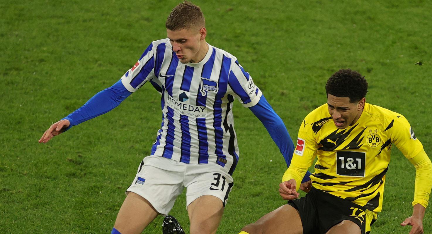 Dárdai Marci (balra) a Dortmund ellen is megállta a helyét