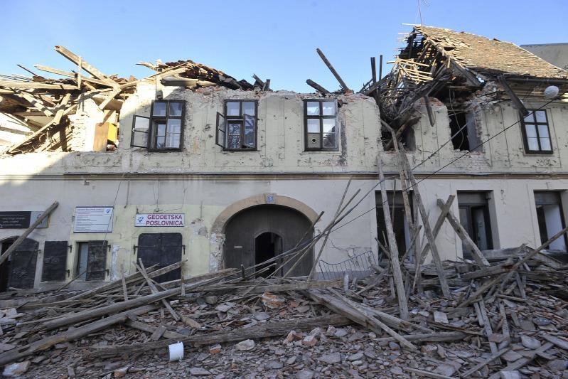 Óriási pusztítást végzett a horvátországi földrengés