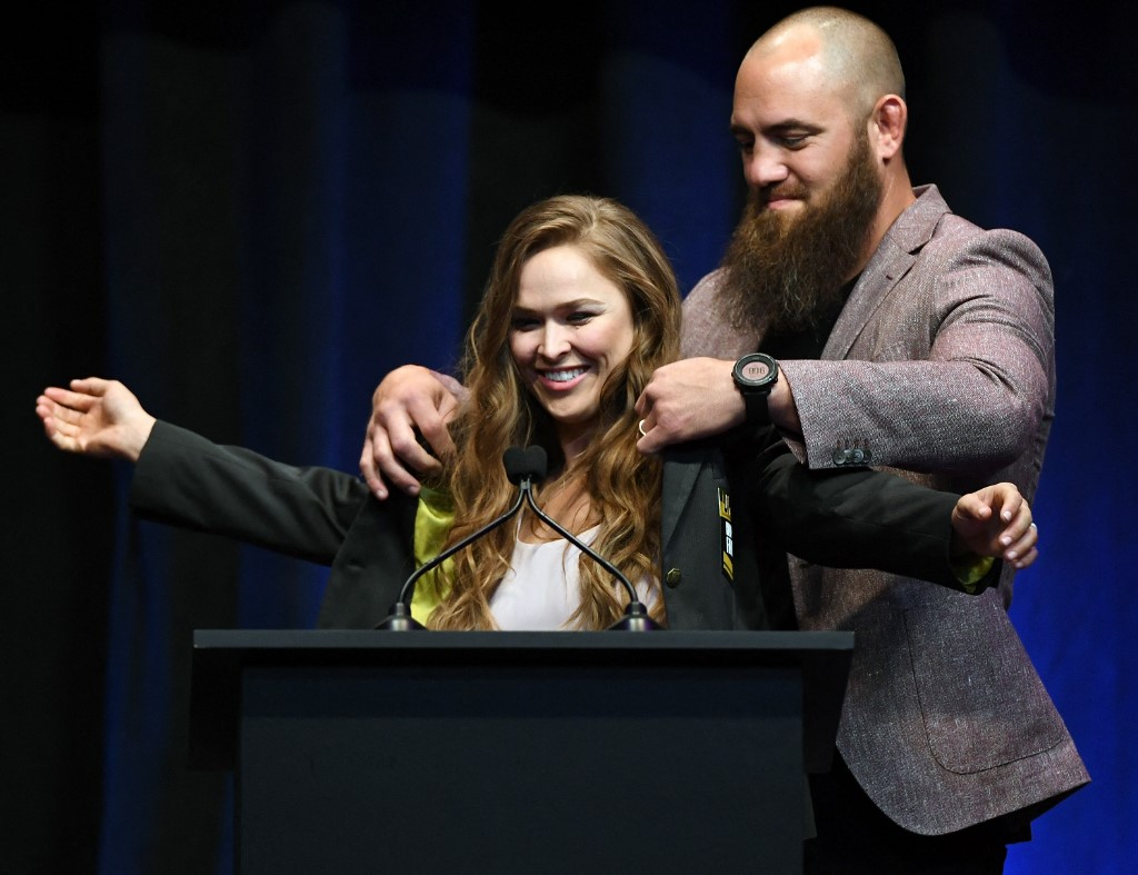 Ronda és férje, Travis Browne: az első gyermeküket várják