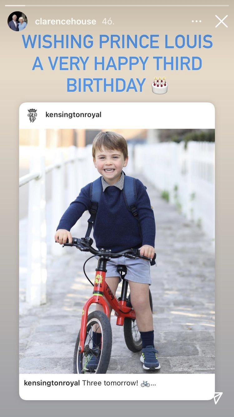 Károly herceg Instagramon üzent