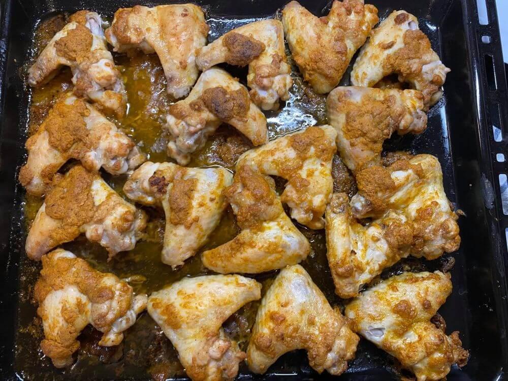 Csípős csirkeszárny