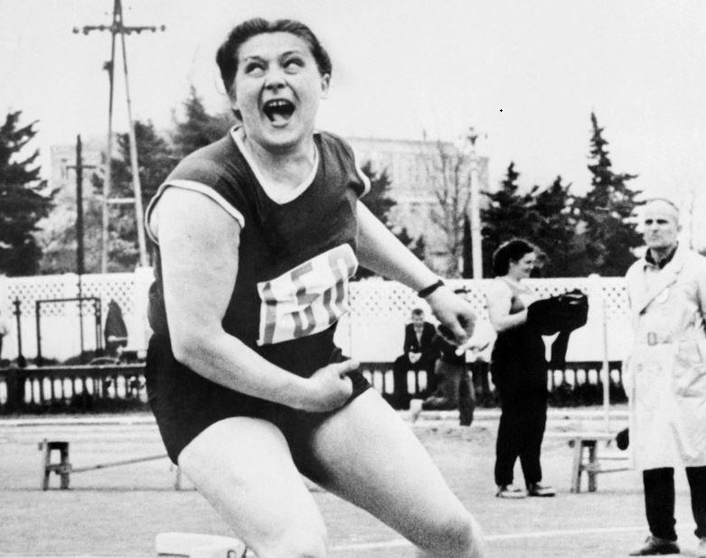 Tamara Pressz egy 1963-as versenyen