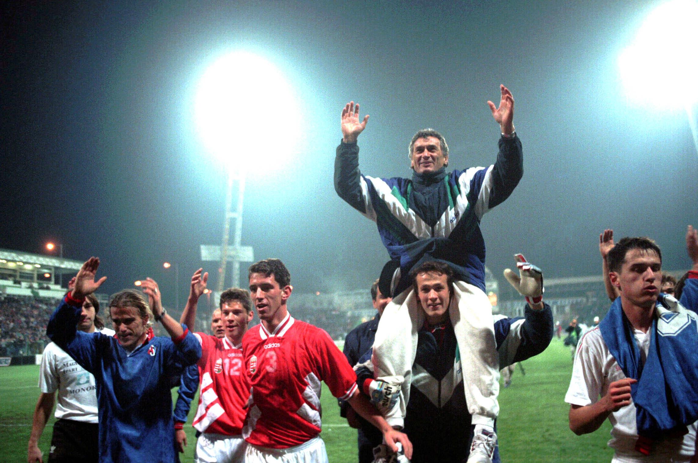 Dunai Antal legnagyobb edzői sikere: 1996-ban szakvezetőként jutott el az olimpiára