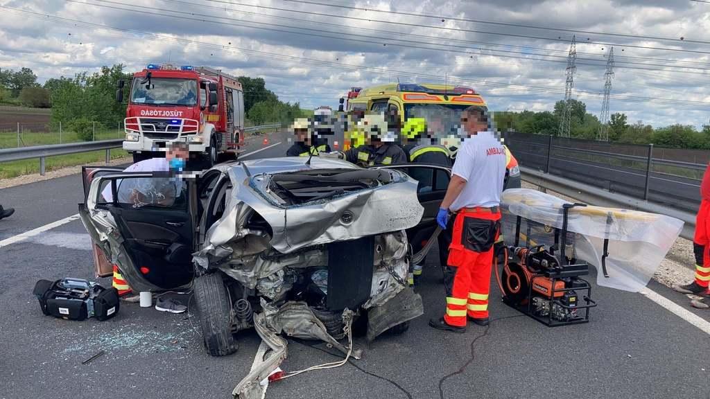 Iszonyatos baleset történt Tolna megyében