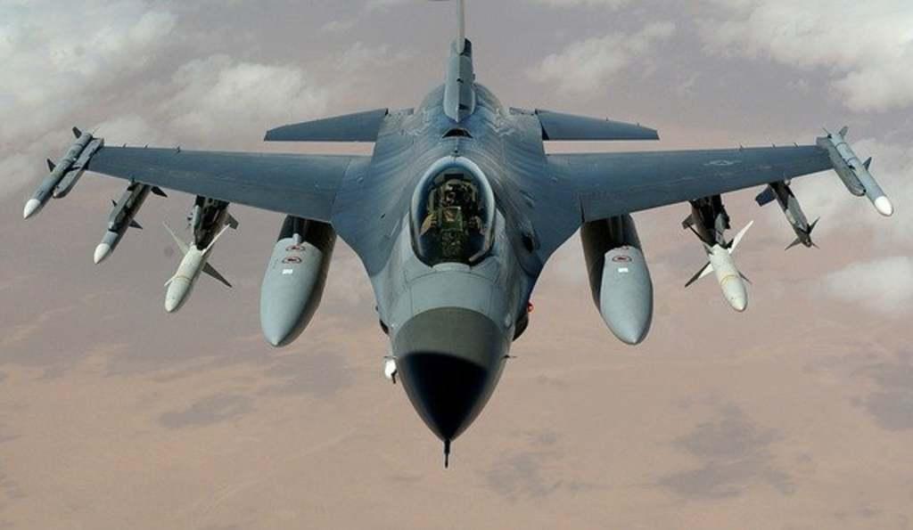 Lezuhant egy katonai repülőgép