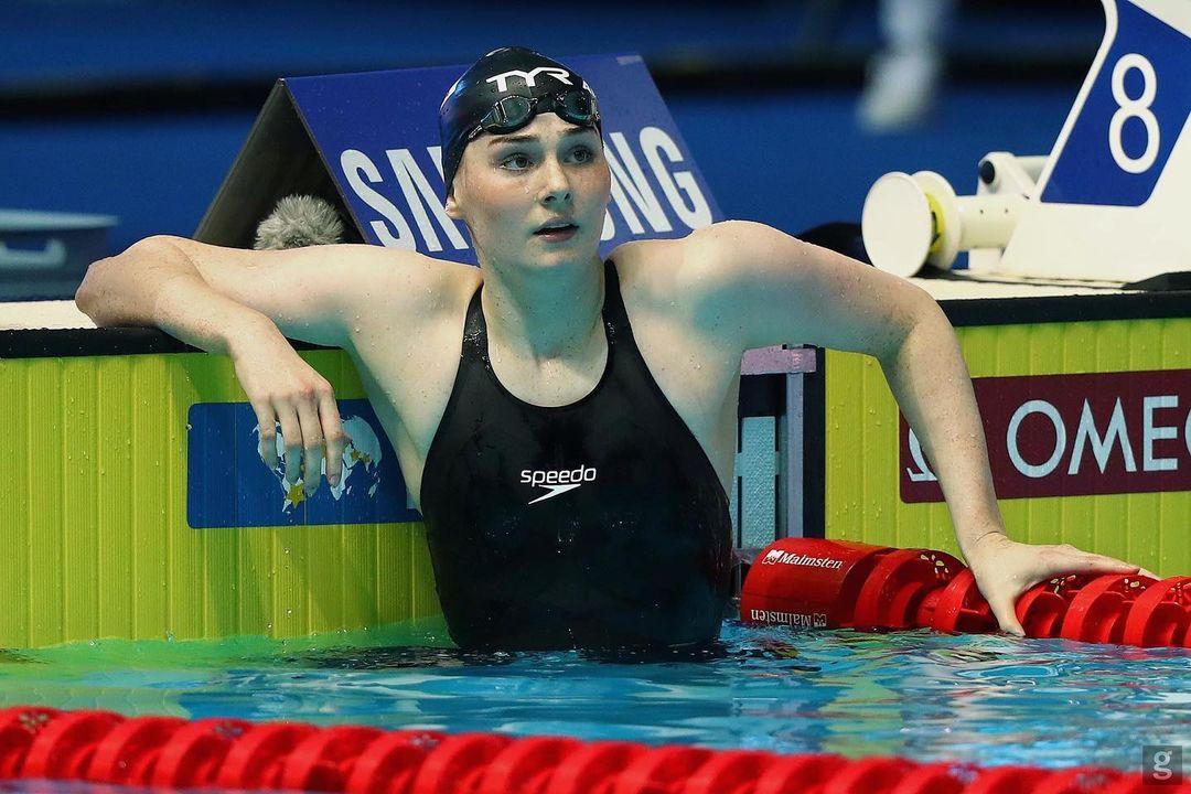 Freyának is furcsa, hogy sikeres úszó lett