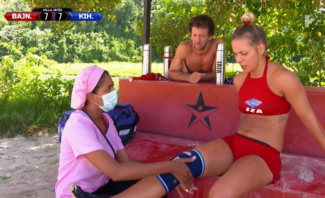 A Bajnokok újabb versenyzője sérült meg