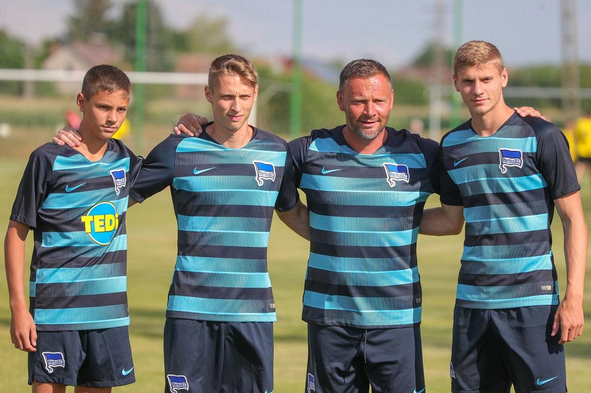 Dárdai Bence, Palkó, Pál és Márton (balról jobbra)
