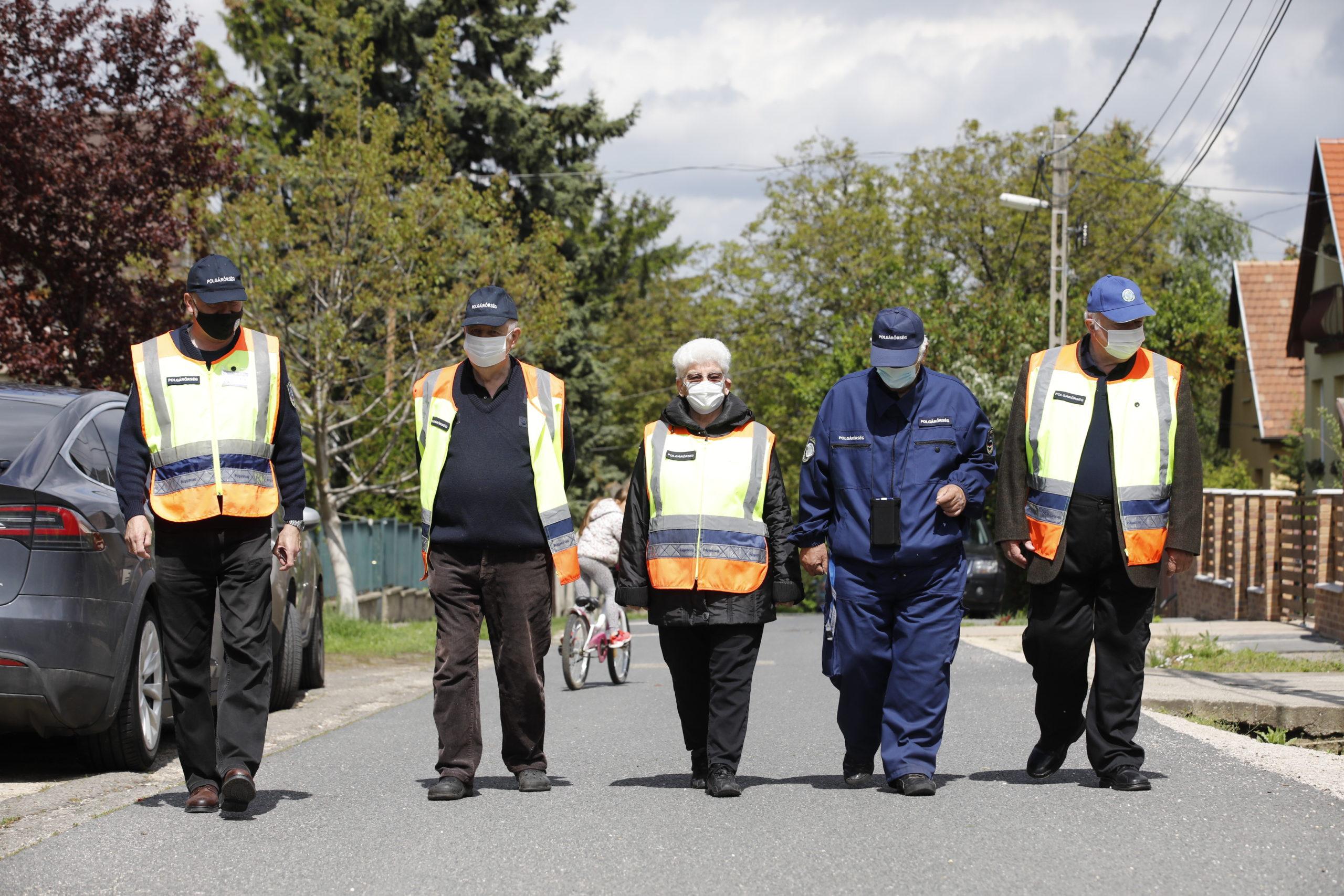 Nyugdíjas polgárőrök