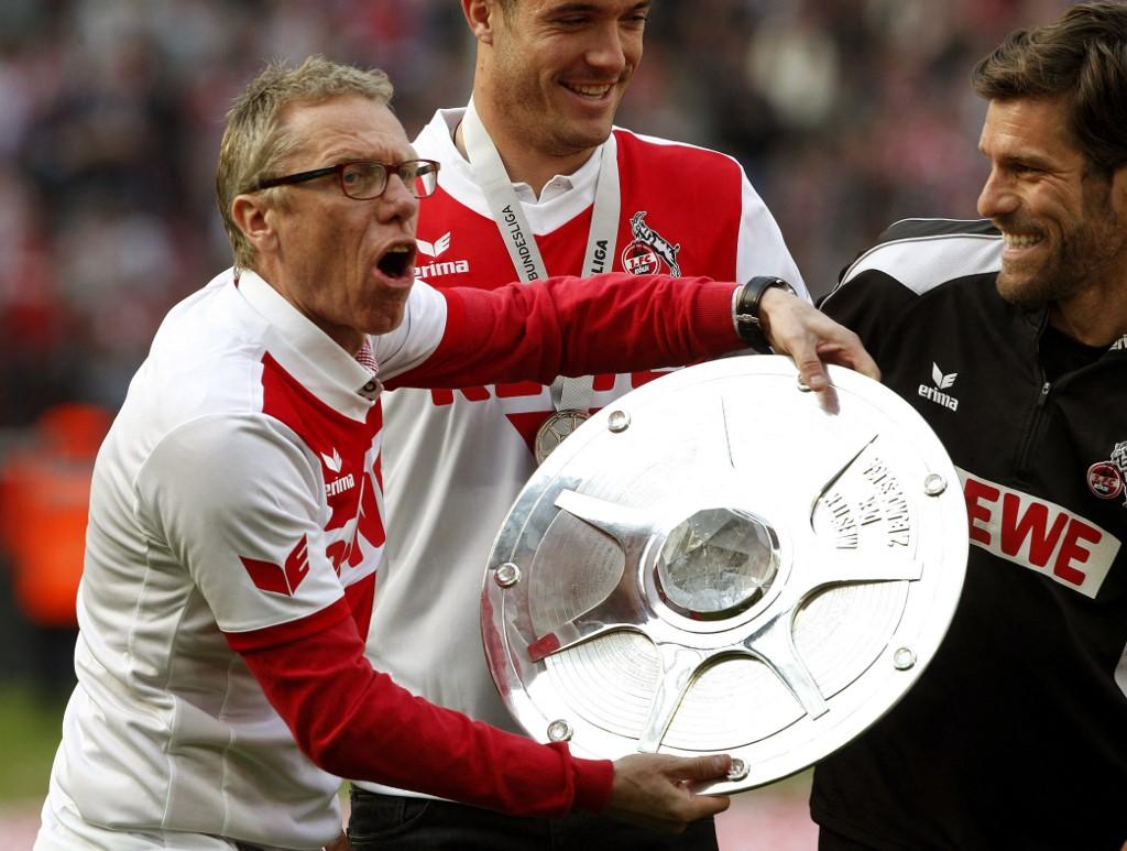 """Stöger a Bundesliga-másodosztály bajnokának járó """"salátástállal"""""""