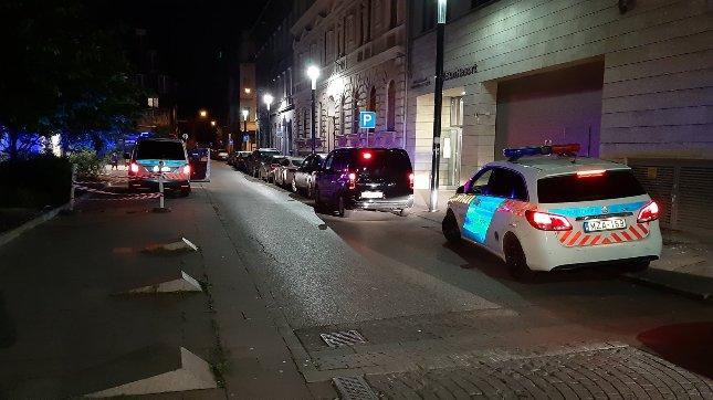 A lövöldözés miatt a rendőrök is kivonultak a helyszínre