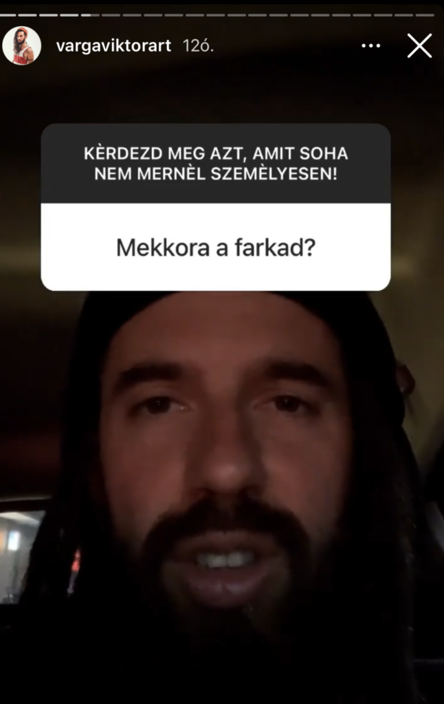 Férfiasságáról kérdezték Varga Viktor