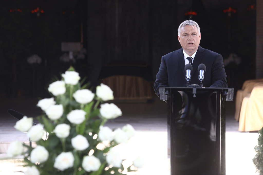 """""""Meghalni nehéz, jól meghalni pedig különösen az"""" – így búcsúzott Orbán Viktor Jankovics Marcelltől"""