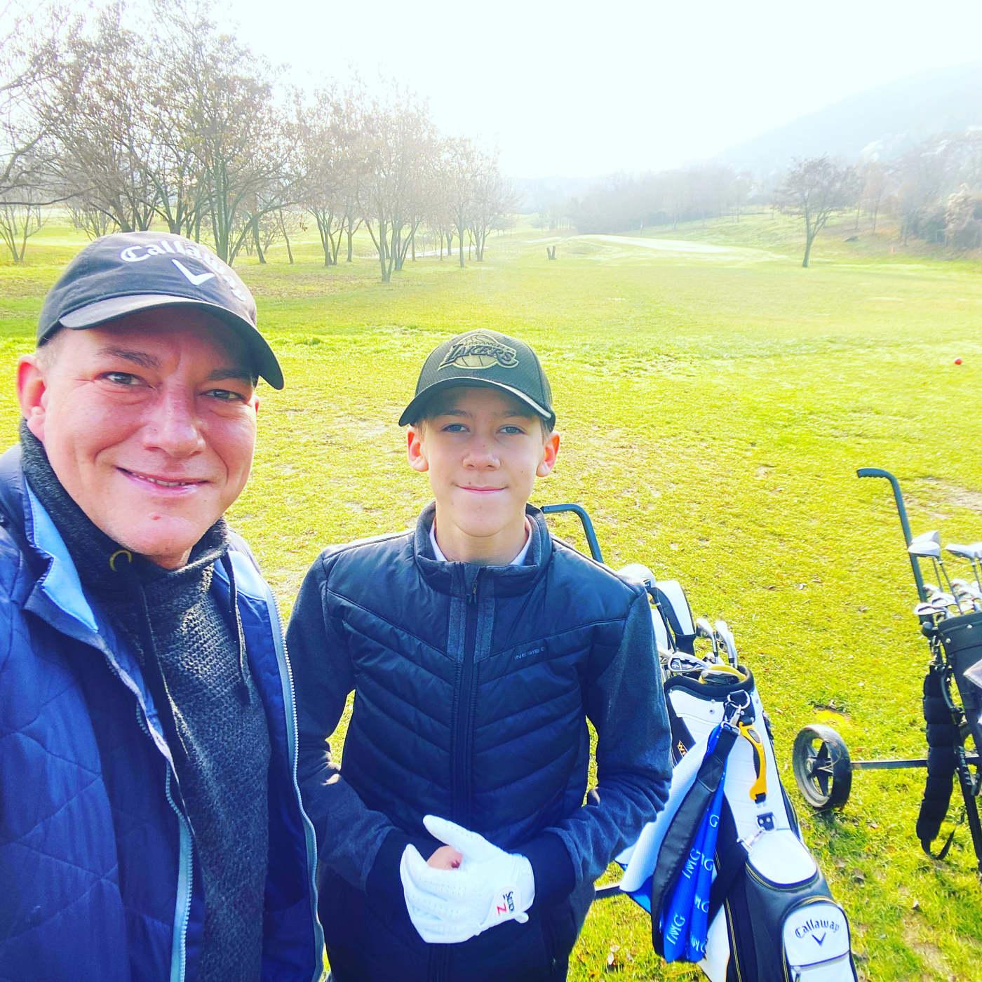 Németh Kristóf kamasz fia profi sportolónak készül