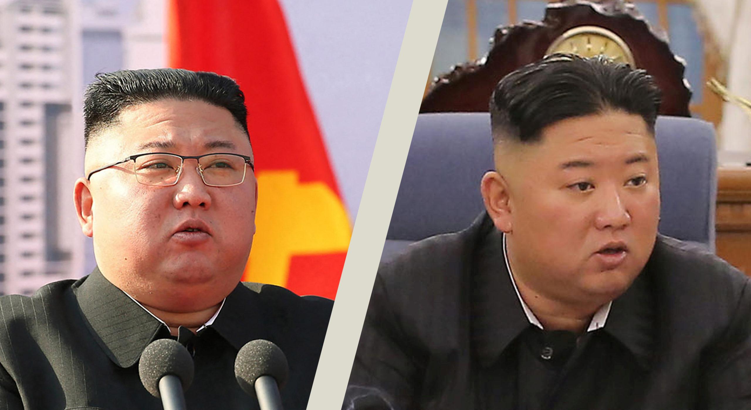Kim Dzsongun lefogyott