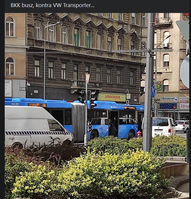 Baleset Budapesten
