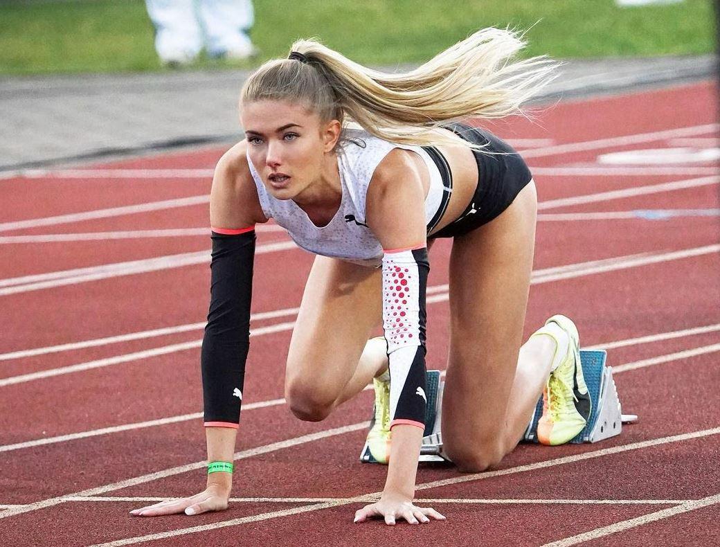 Alica Schmidt elszántan készül a hétvégi kvalifikációs versenyre
