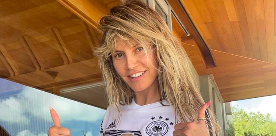 Heidi Klum is drukkolt a honfitársainak