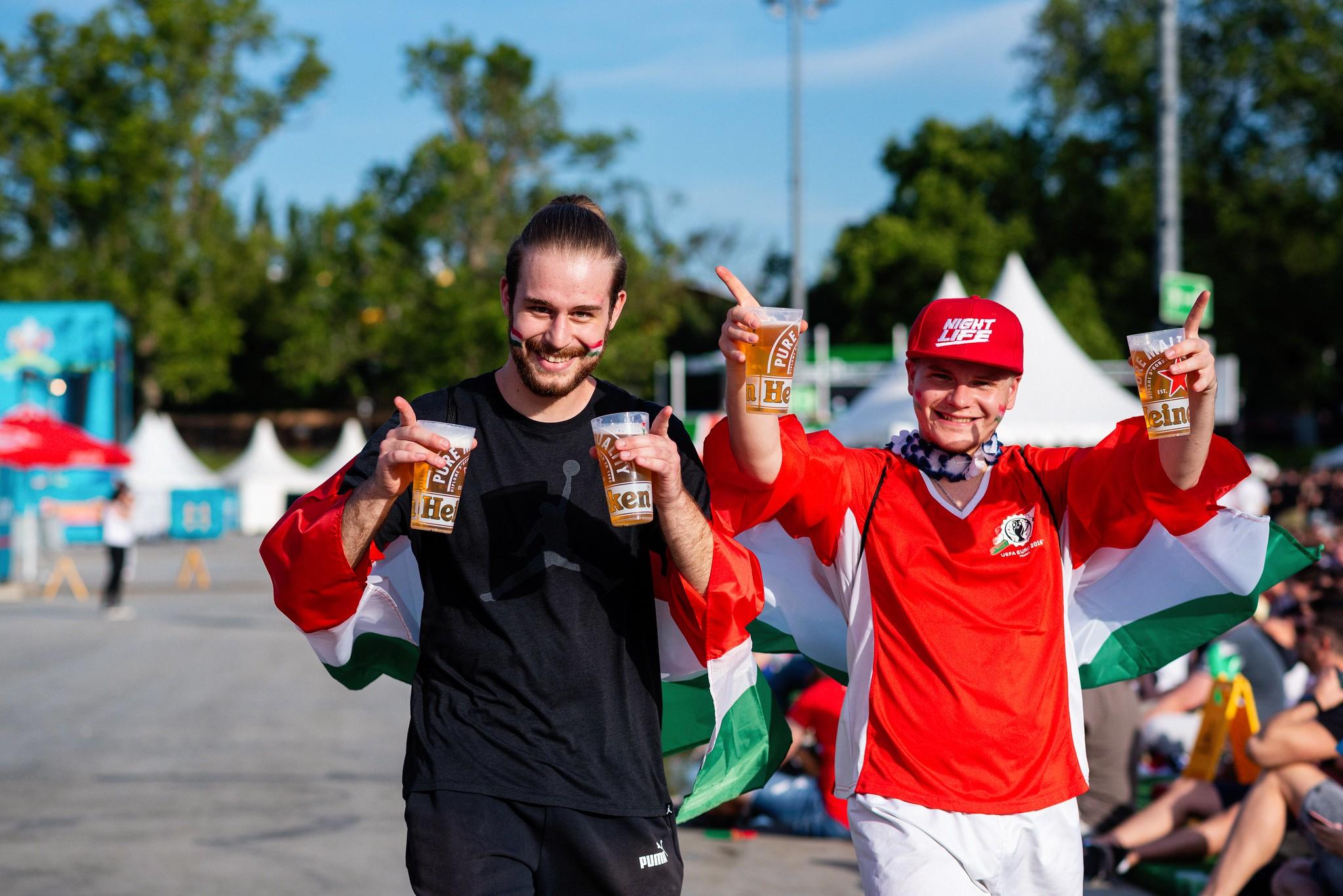Túl korán kimerült a sörkészlet a Portugália elleni meccsen