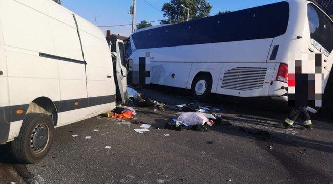 A mezőörsi buszbaleset pénteken történt