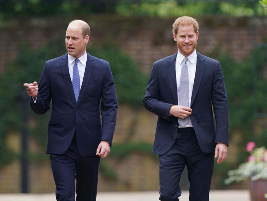 Harry és Vilmos próbálták félretenni az ellentéteiket
