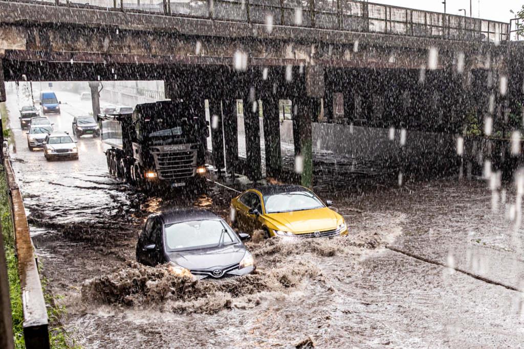 Vihar csapott le Budapestre