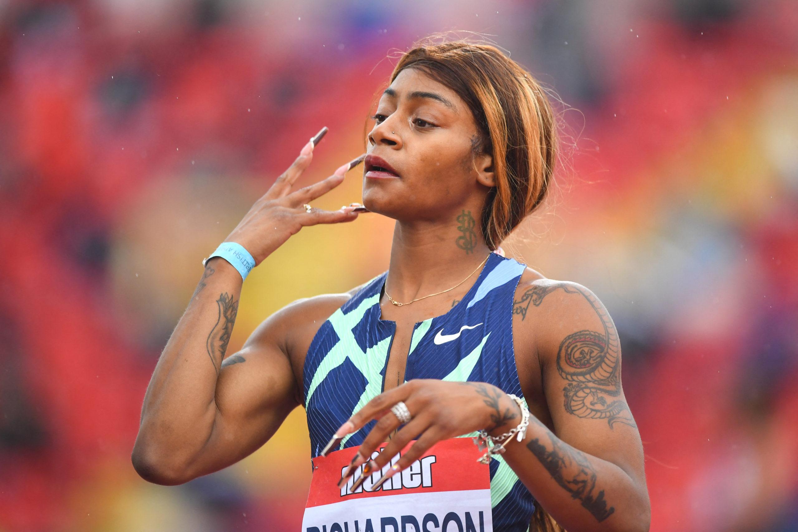 Sha'Carri Richardsonnak ugrott a tokiói olimpia