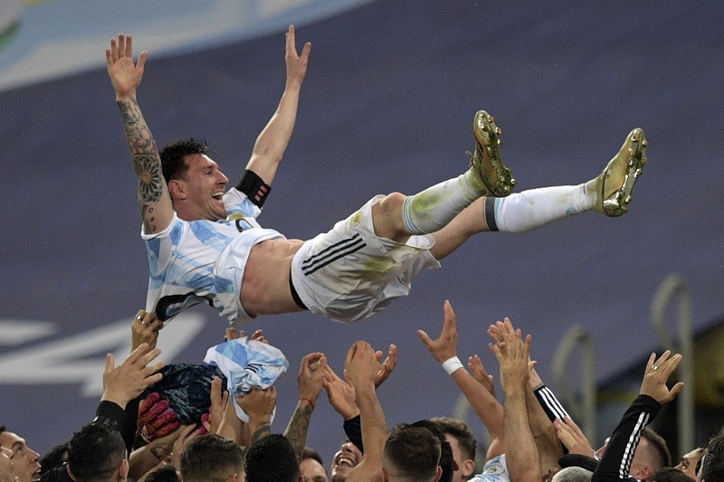 Lionel Messi első tornagyőzelmét aratta a felnőtt argentin válogatottal