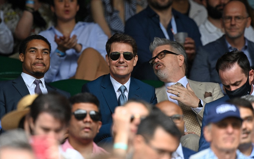 Tom Cruise ellopta a showt a wimbledoni női döntőn