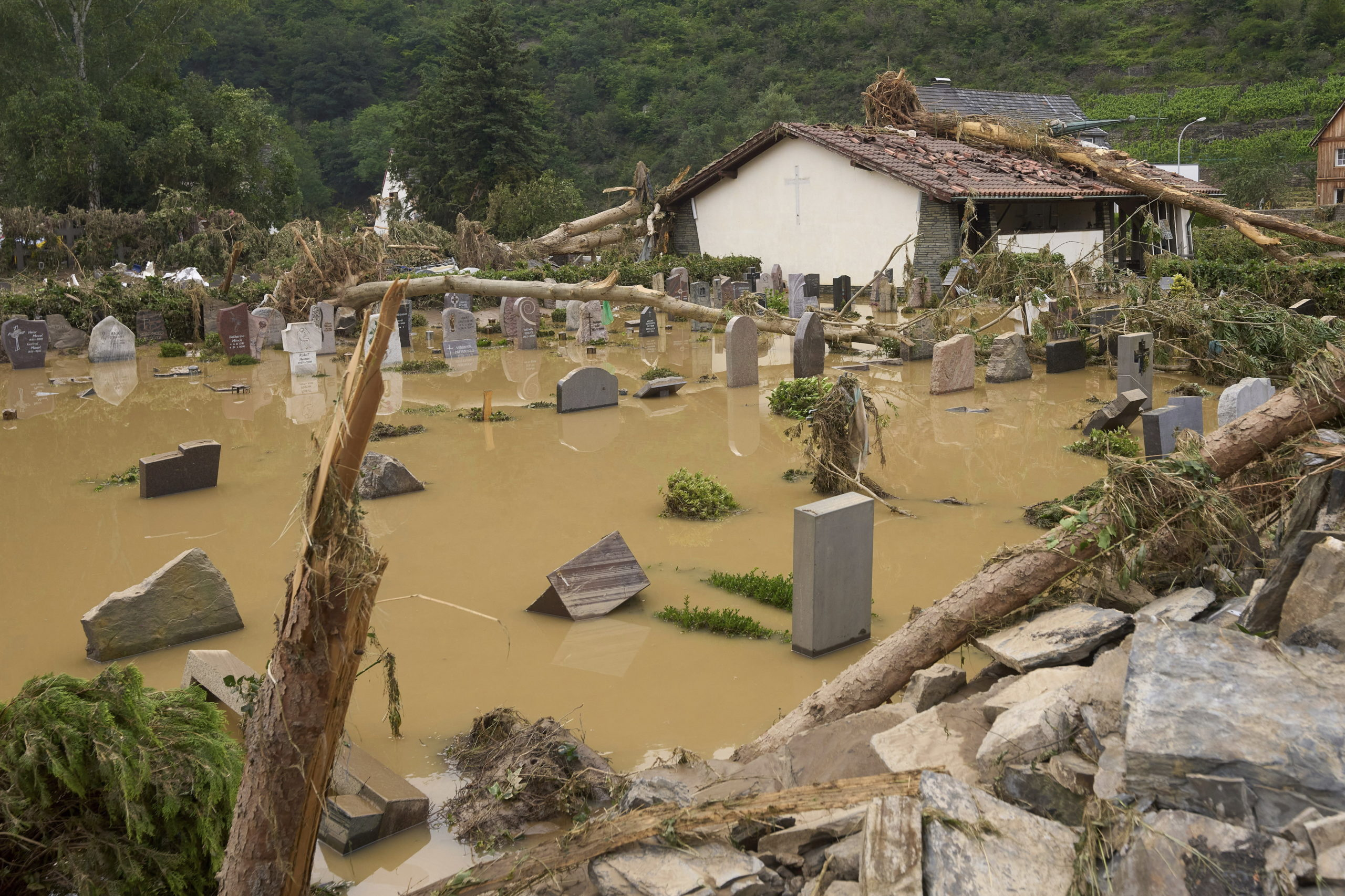 németországi áradások
