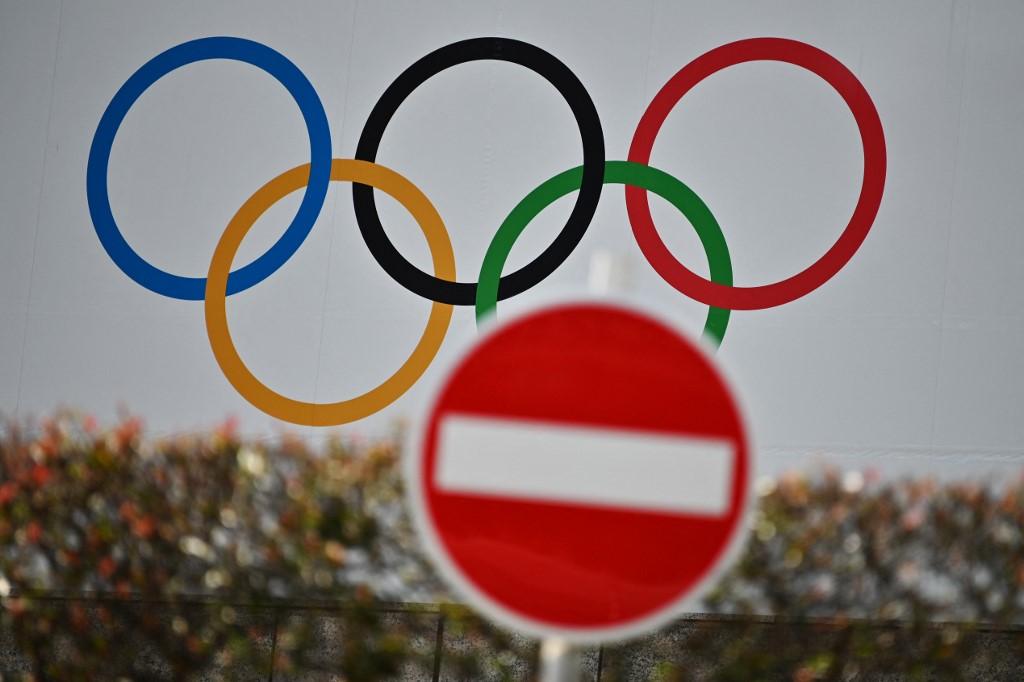 Az olimpiai ötkarika Tokióban