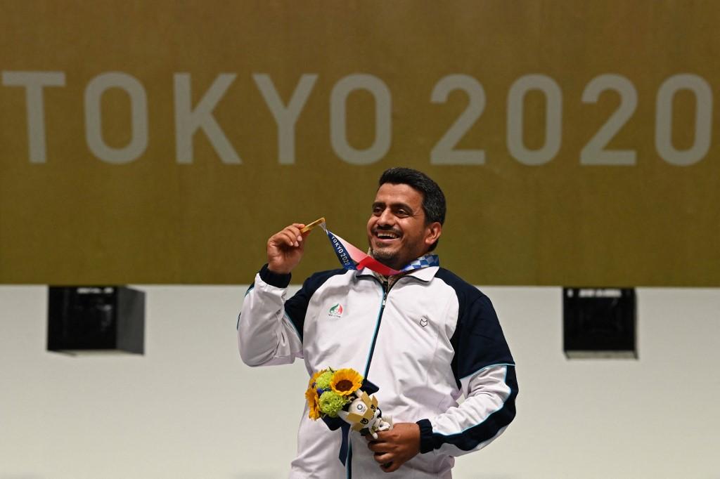 Foruhi az olimpiai aranyéremmel