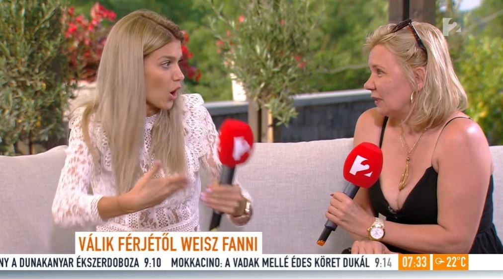 Kissé idegesen válaszolt a válásával kapcsolatos kérdésekre Weisz Fanni