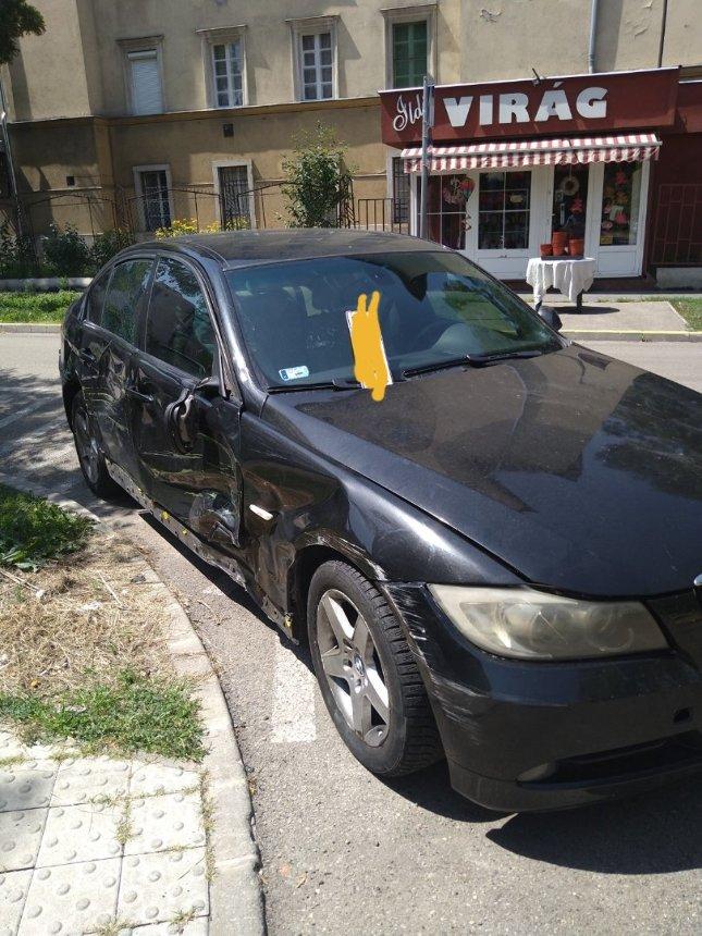 Még keresik a száguldozó BMW sofőrjét