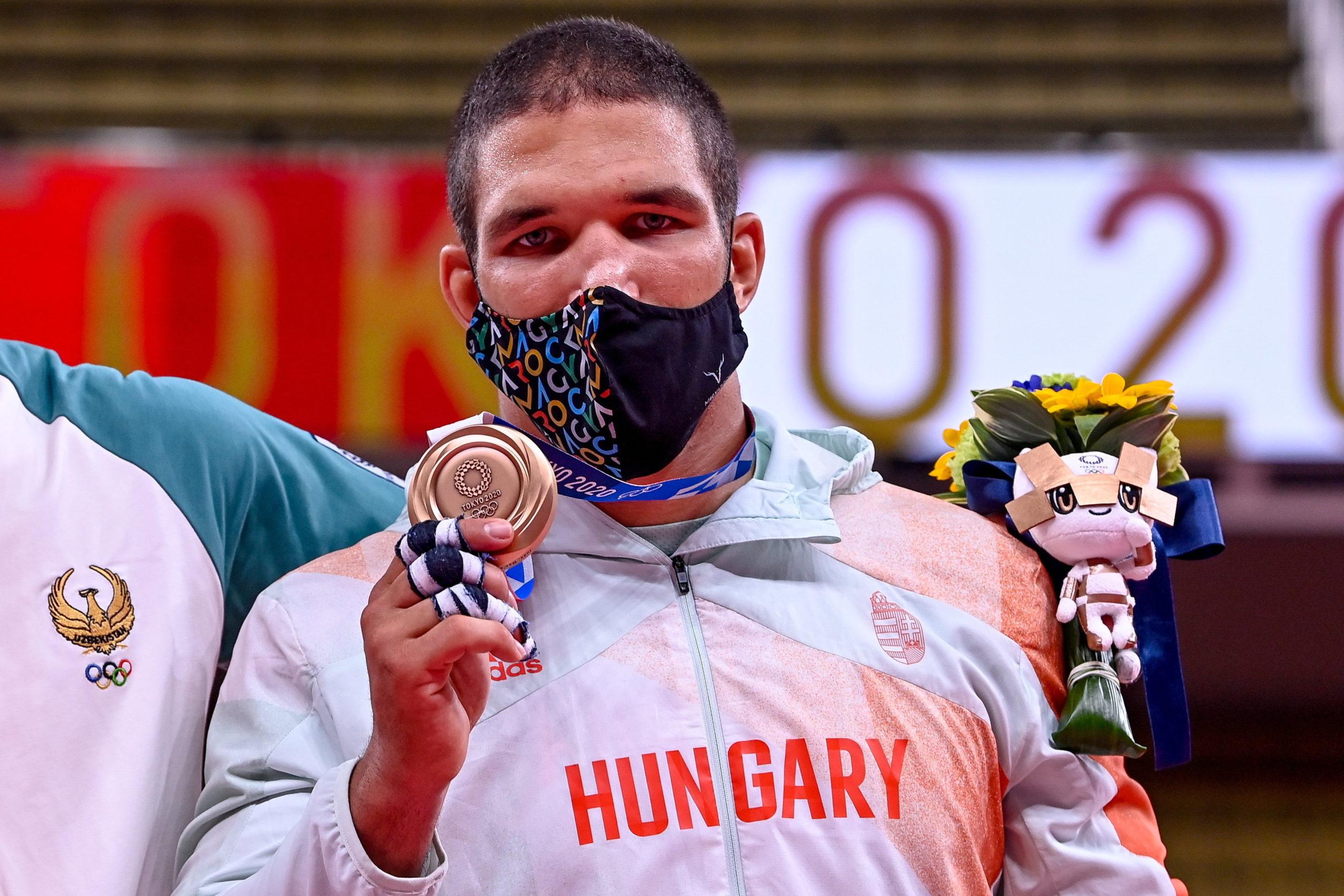 Tóth Krisztián az olimpiai bronzérmével
