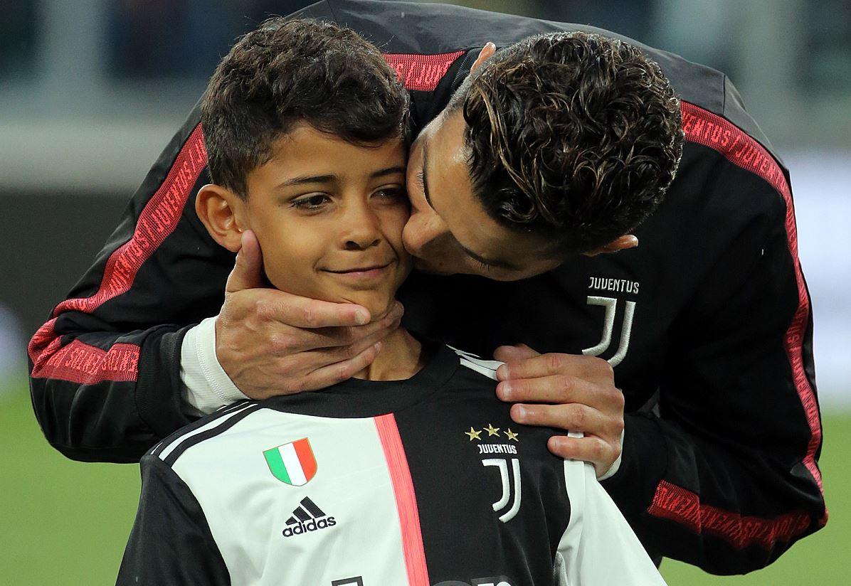 Cristiano Junior 11 éves létére az MU előtt már játszott a Realban és a Juvéban is