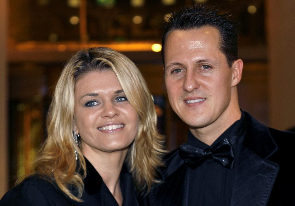 Corinna és Michael Schumacher egy 2006-os monacói gálán