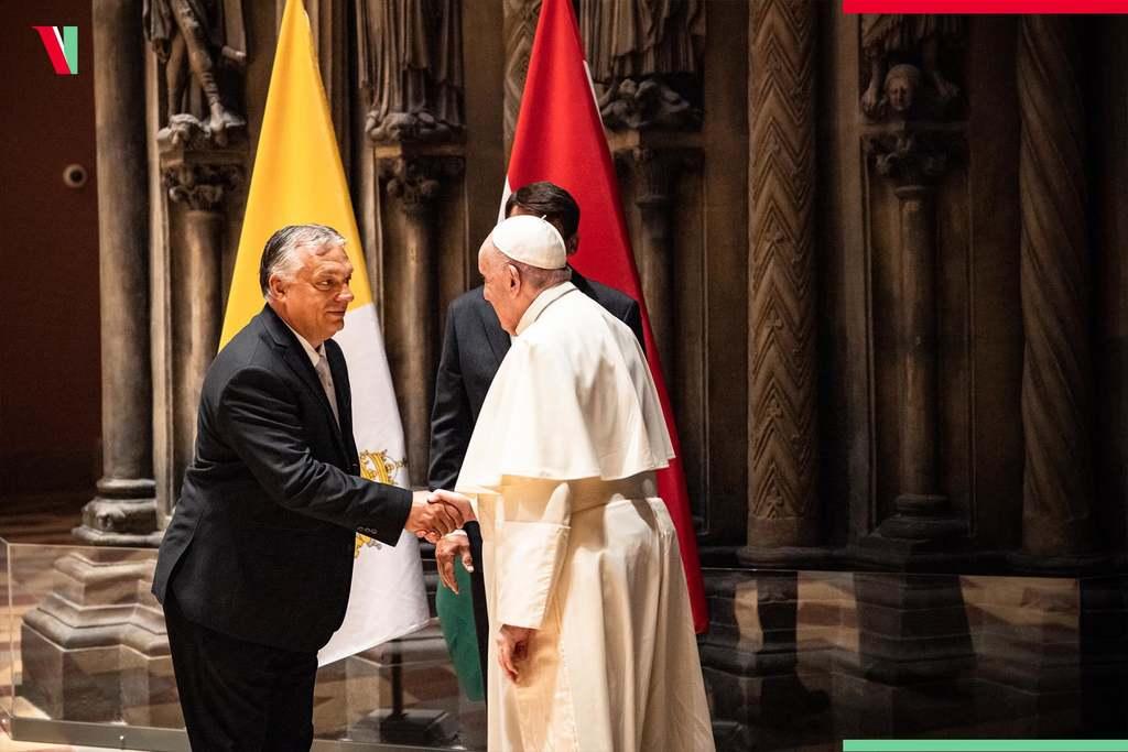 Ferenc pápa ígéretet tett Orbán Viktornak