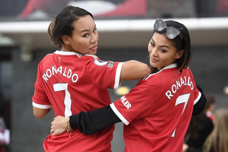 Újra kitört a Ronaldo-mánia Manchesterben