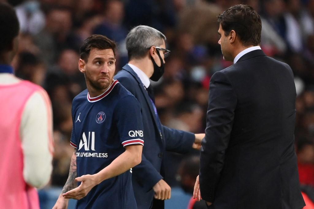 Lionel Messit idő előtt lecserélték vasárnap