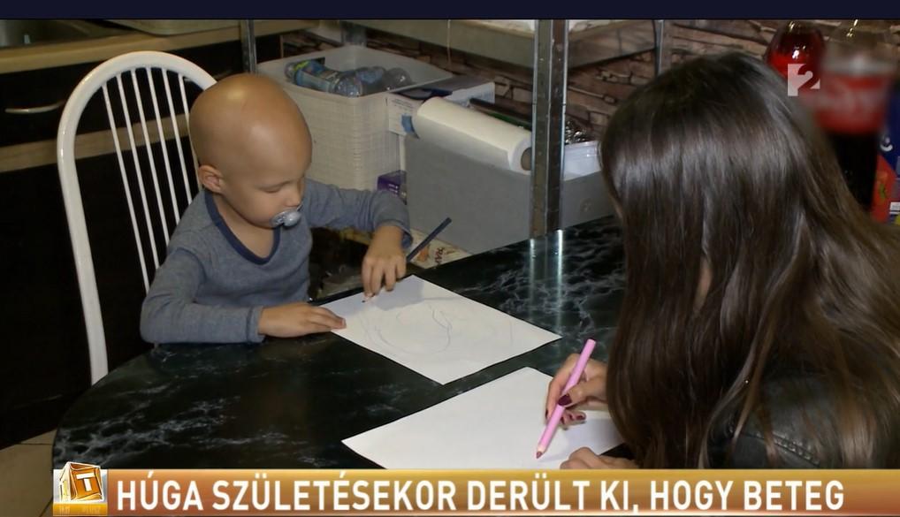 A 3 éves Robertó rosszindulatú vesetumorral küzd